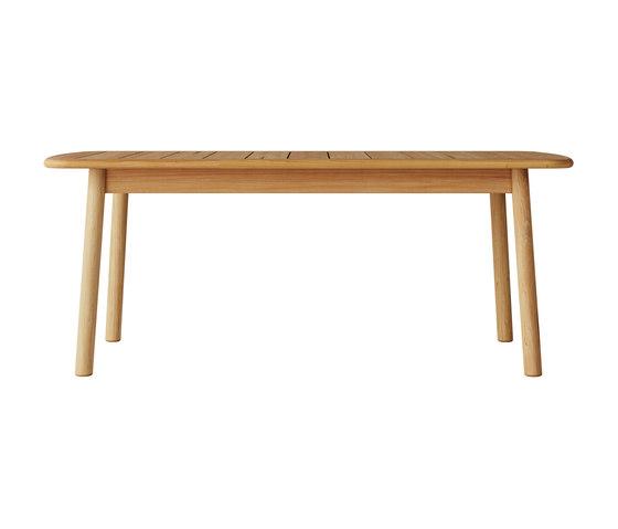 Tanso | Rectangular Table Small di Case Furniture | Tavoli pranzo