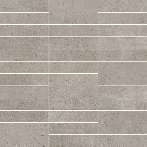 Boreal Jenga Grey by KERABEN | Ceramic tiles