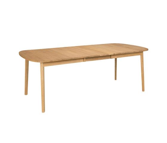 Rainbow table 162(48+48)x100cm oak oiled by Hans K | Dining tables