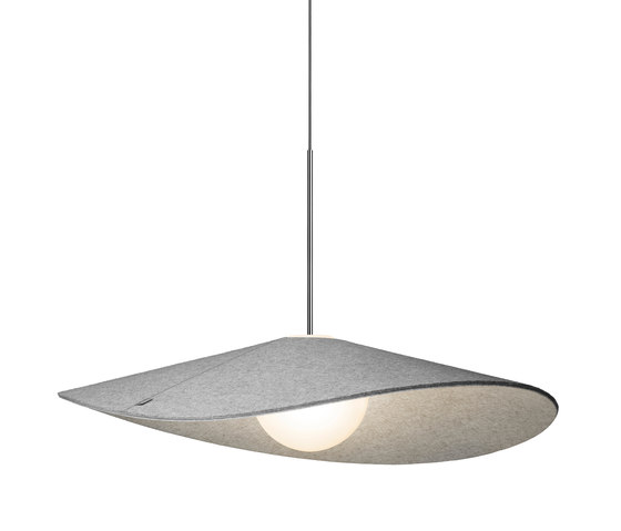 Bola Felt 24 Pendant by Pablo | Suspended lights