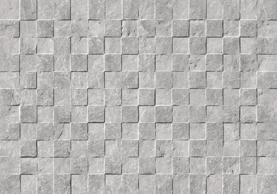 Gaja Grey Muretto 3D von Refin | Keramik Fliesen