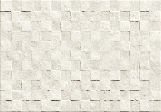 Gaja Ivory Muretto 3D de Refin | Carrelage céramique