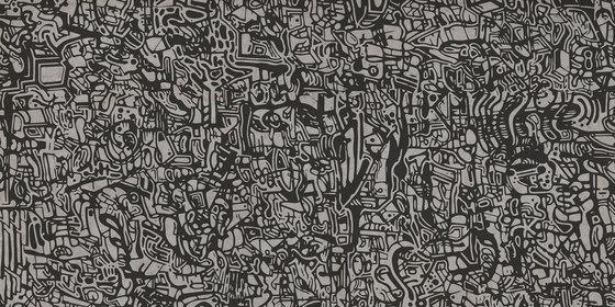 Plain Doodle Nickel by Refin   Ceramic tiles