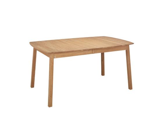Verona table ellipse 160(48+48)x102cm oak oiled di Hans K | Tavoli pranzo