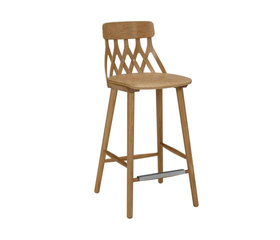 Y5 barchair 63cm oak oiled, by Hans K   Bar stools