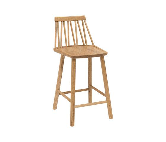 ZigZag junior chair oak oiled by Hans K | Bar stools