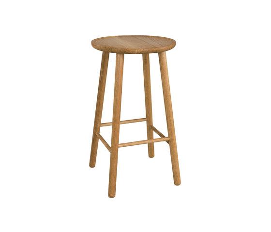 ZigZag barstool 63cm oak oiled by Hans K | Bar stools