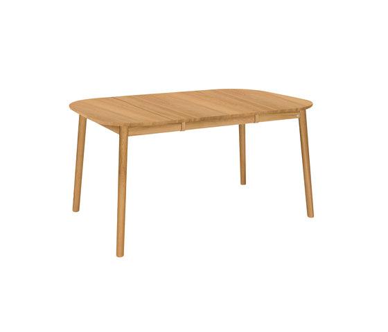 ZigZag Tisch quadrat 102(52)x102cm Eiche Geölt von Hans K   Esstische