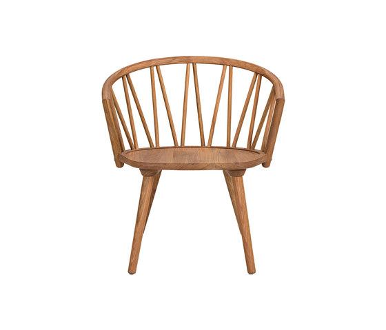 ZigZag lounge chair oak oiled de Hans K   Chaises