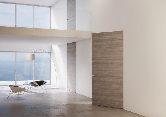Alba | Porta Battente di Linvisibile | Porte interni