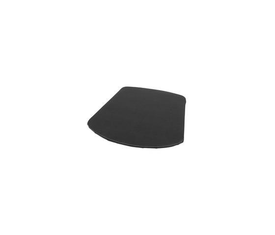 ZigZag cushion chair bonded leather black emb de Hans K | Cojines para sentarse