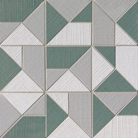 Milano&Wall Salvia Origami Mosaico by Fap Ceramiche | Ceramic mosaics