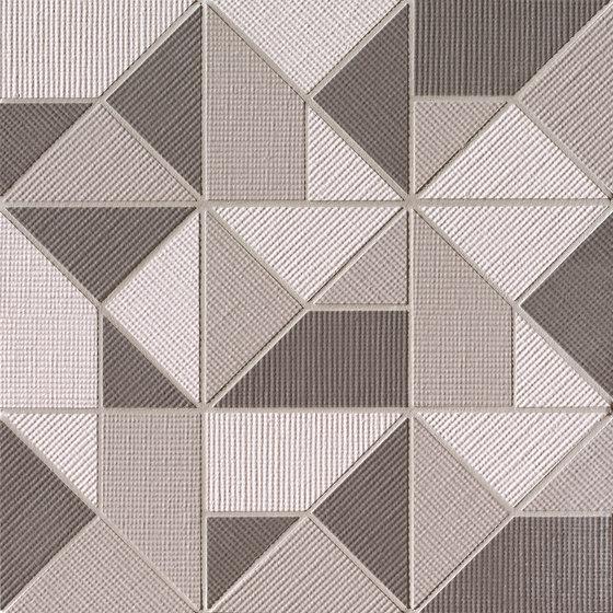 Milano&Wall Terra Origami Mosaico by Fap Ceramiche | Ceramic mosaics