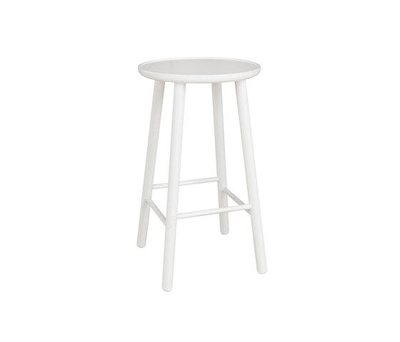 ZigZag barstool 63cm white by Hans K | Bar stools