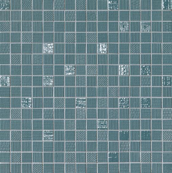 Milano&Wall Blu Mosaico by Fap Ceramiche | Ceramic mosaics