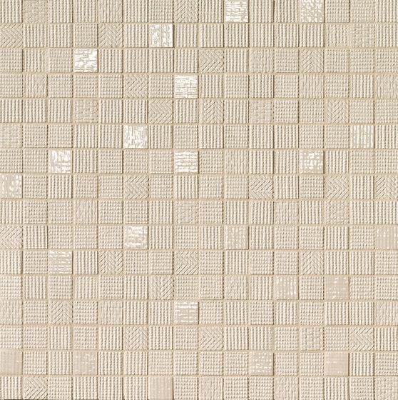 Milano&Wall Beige Mosaico by Fap Ceramiche | Ceramic mosaics
