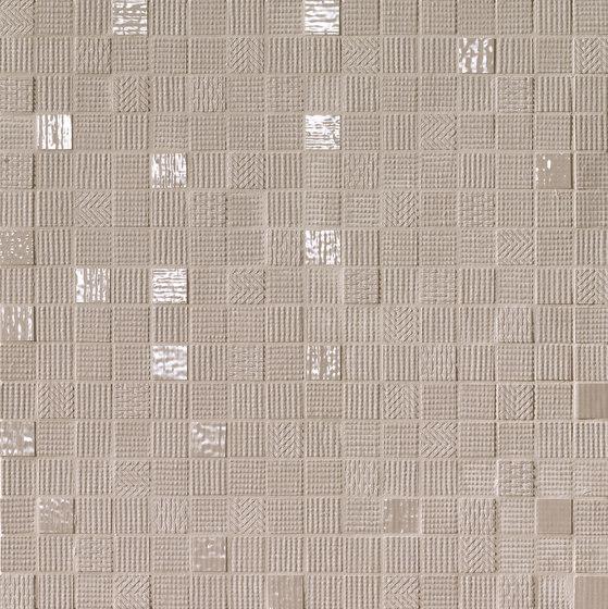 Milano&Wall Tortora Mosaico de Fap Ceramiche | Mosaïques céramique