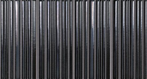 Milano&Wall Righe Metal Moka Inserto von Fap Ceramiche | Keramik Fliesen
