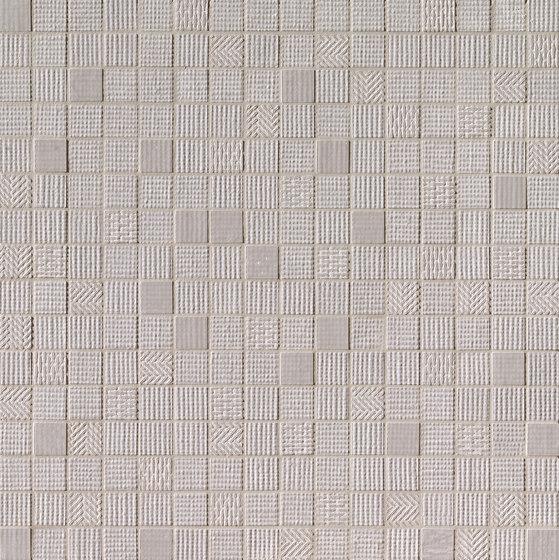 Milano&Wall Grigio Mosaico de Fap Ceramiche | Mosaicos de cerámica