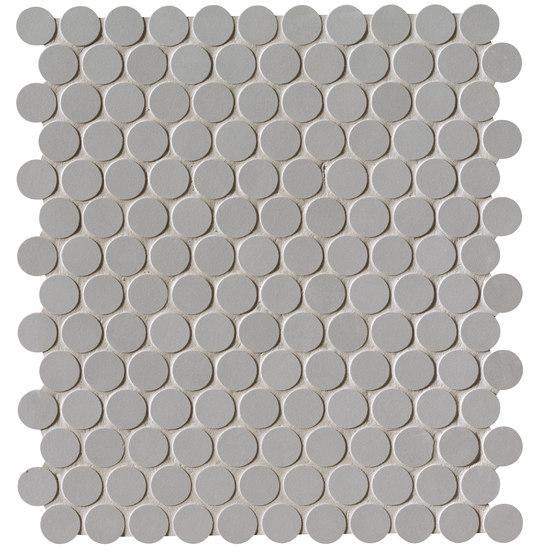 Milano&Floor Grigio Round Mosaico Matt von Fap Ceramiche | Keramik Mosaike
