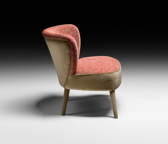 Cloè Armchair by black tie | Armchairs