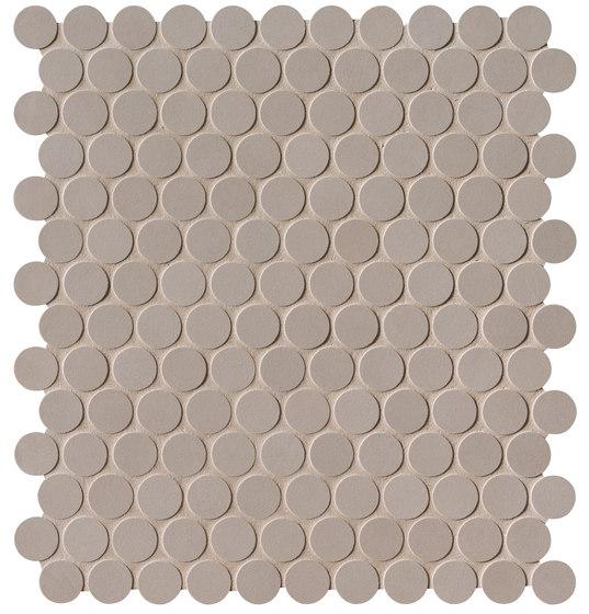 Milano&Floor Tortora Round Mosaico Matt by Fap Ceramiche | Ceramic mosaics