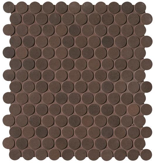 Milano&Floor Corten Round Mosaico Matt by Fap Ceramiche | Ceramic mosaics