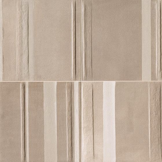 Milano&Floor Beige Tortora Deco von Fap Ceramiche | Keramik Fliesen