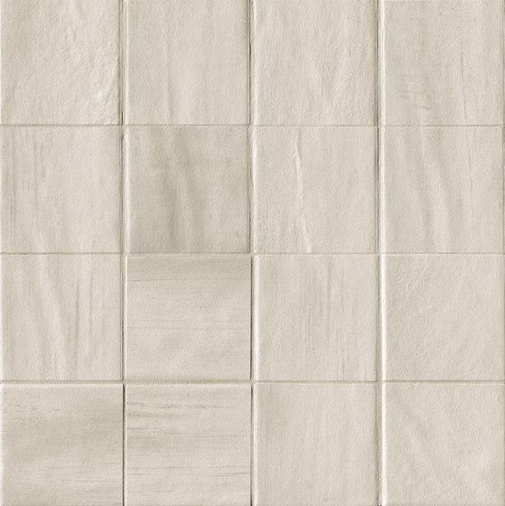 Brickell White Macromosaico Matt de Fap Ceramiche | Mosaïques céramique