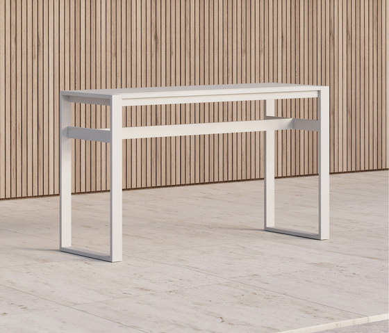 Eos | Rectangular Bar Table di Case Furniture | Tavoli alti