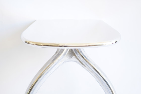 Wishbone Series Console - Aluminum by STACKLAB | Console tables