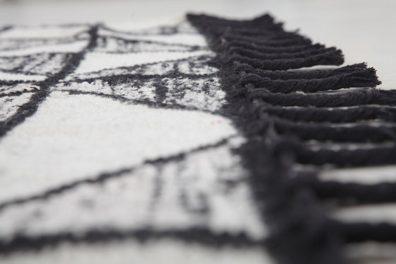 Rowan Black & White by Miinu | Rugs