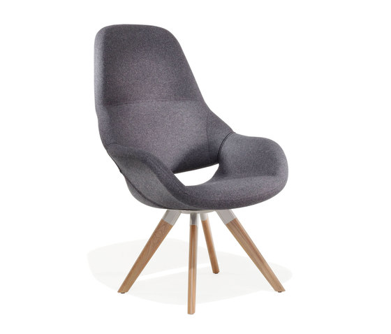 8239/3 Volpe by Kusch+Co | Armchairs