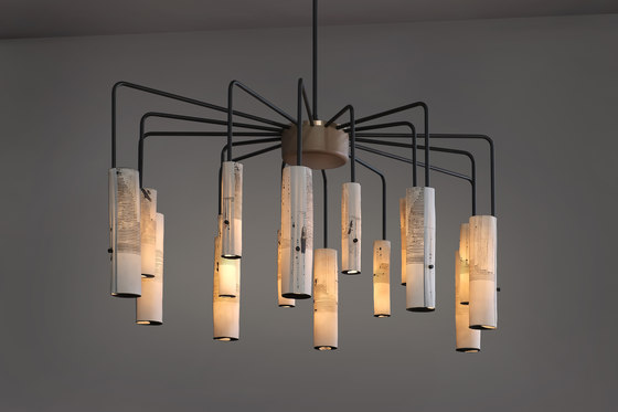 arak 16-arm chandelier de Skram | Suspensions