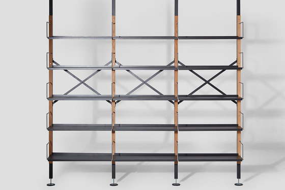 Croquet Shelving Compression by VG&P | Shelving