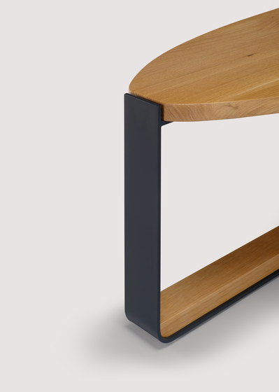 piedmont elliptical low table by Skram | Coffee tables
