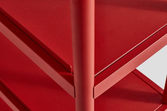Metal Dowel 3 Shelving de VG&P | Estantería