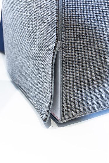 Acoustic column 1200 de AOS | Systèmes d'absorption acoustique autoportants