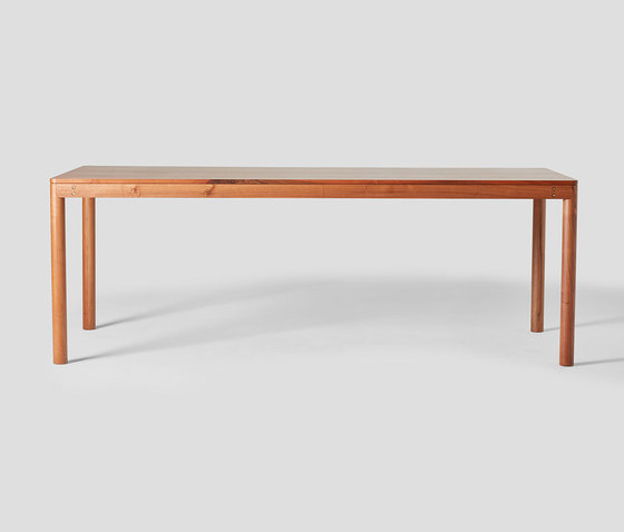 Wooden Dowel table Solid Walnut by VG&P | Dining tables
