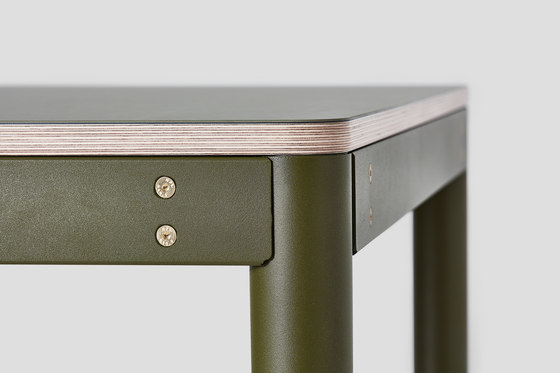 Metal Dowel Table Poseur Height Lino by VG&P | Standing tables