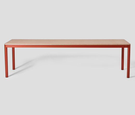 Metal Dowel Table Dining Height by VG&P | Dining tables