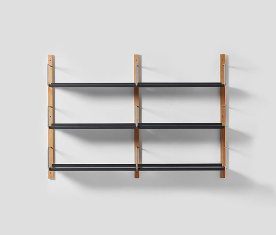 Croquet Wall Shelving 3 Hoop di VG&P | Scaffali