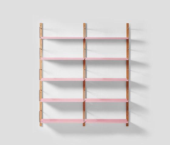 Croquet Wall Shelving 5 Hoop by VG&P | Shelving