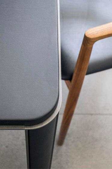 Gregorio Table | leather di mg12 | Tavoli pranzo