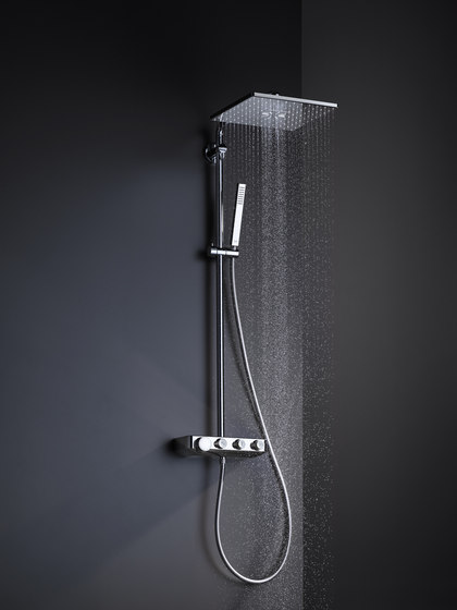 Euphoria SmartControl System 310 Duo Showersystem by GROHE | Shower controls