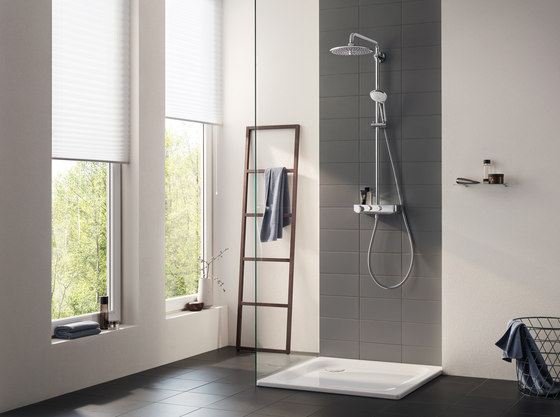 Euphoria SmartControl System 260 Mono with thermostat for wall mounting by GROHE | Shower controls