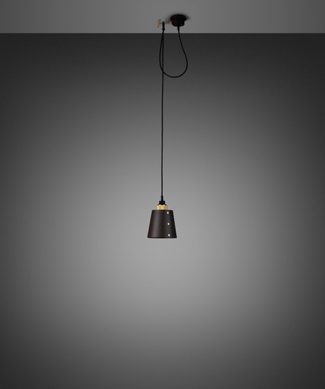 Hooked 1.0 Small | Graphite | Brass by Buster + Punch | Suspended lights