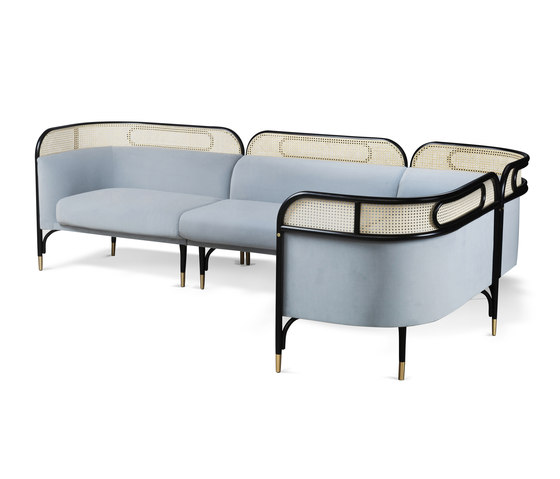 Targa Modular Sofa von WIENER GTV DESIGN | Sofas