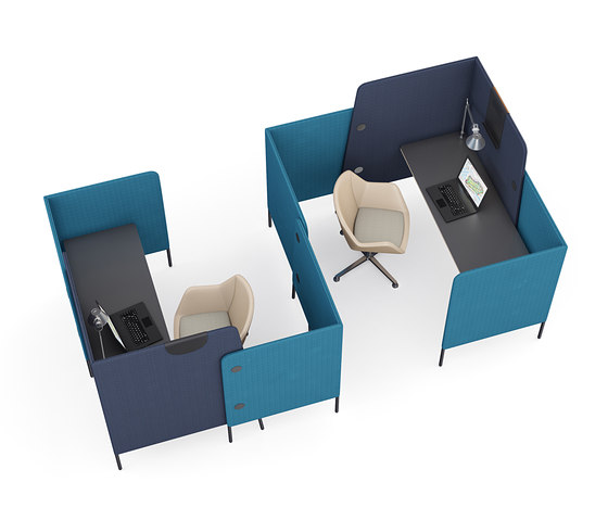 m.zone cell double by Wiesner-Hager | Desks