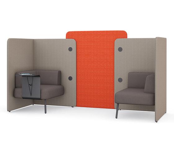 m.zone twin seat di Wiesner-Hager   Sistemi assorbimento acustico architettonici